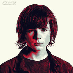 TWD: Carl Grimes: Graphic Novel Edit by nerdboy69