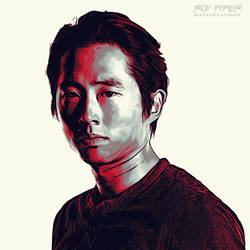 TWD: Glenn Rhee: Graphic Novel Edit by nerdboy69