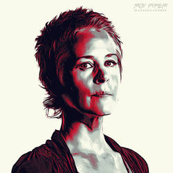 TWD: Carol Peletier: Graphic Novel Edit by nerdboy69