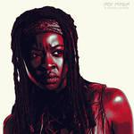 TWD: Michonne: Graphic Novel Edit by nerdboy69