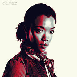 TWD: Sasha Williams: Graphic Novel Edit by nerdboy69