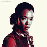 TWD: Sasha Williams: Graphic Novel Edit by nerdboy69