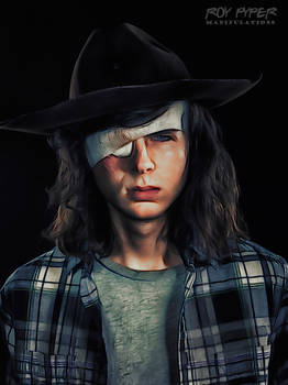 TWD: Carl Grimes: Crayon Sketch Edit (Ver.2)
