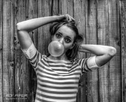 Bubbilicious: HDR Monochrome Edit by nerdboy69