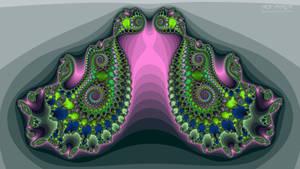Xaos Fractal Wallpaper (Ver12)