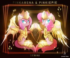 Gemini Pinkamena  Pinkiepie -Goddess Cloth Rebirth by ZidaneMina