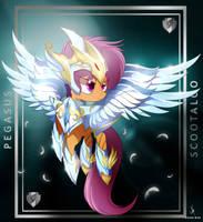 Pegasus Saint Scootaloo by ZidaneMina