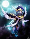 Luna Goddess of the Night (Background edition)