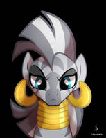 My Little Zecora by ZidaneMina