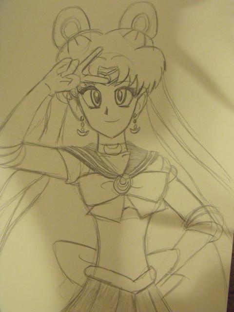 Sailor Moon by christheZfighter