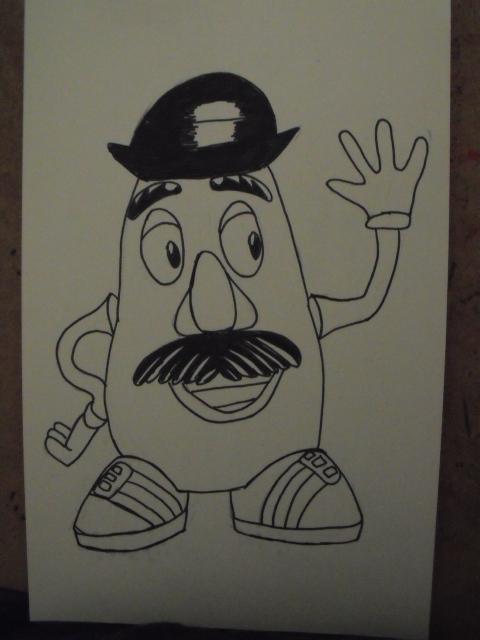 Mr. Potatohead by christheZfighter