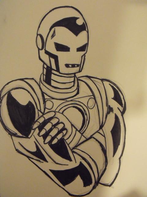 60's Iron Man by christheZfighter