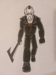 Jason Voorhees  by christheZfighter