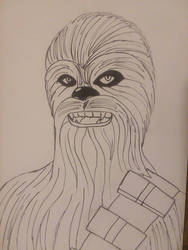 Chewbacca  by christheZfighter