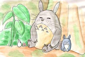 Totoro by whoatheresara