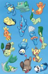 Falling Pokemon