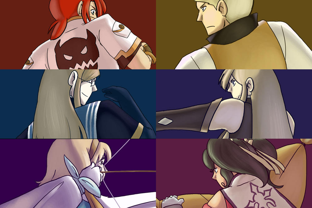 Tales of the Abyss gang