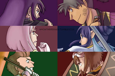 The Vesperia gang by whoatheresara