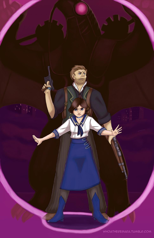 Bioshock Infinite by whoatheresara