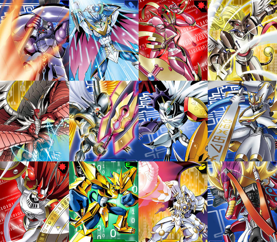 Digimon Wallpaper: Royal Knights Cards By Johnsis2 On DeviantArt