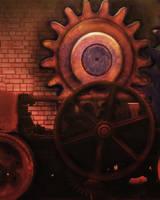 Steampunk Bkg 3 by Elle-Arden