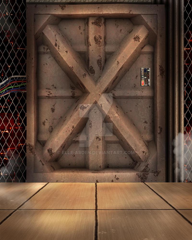 Sci Fi Door Background by Elle Arden on DeviantArt