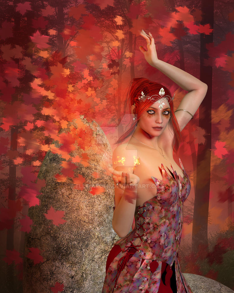 Autumn Magic by Elle-Arden