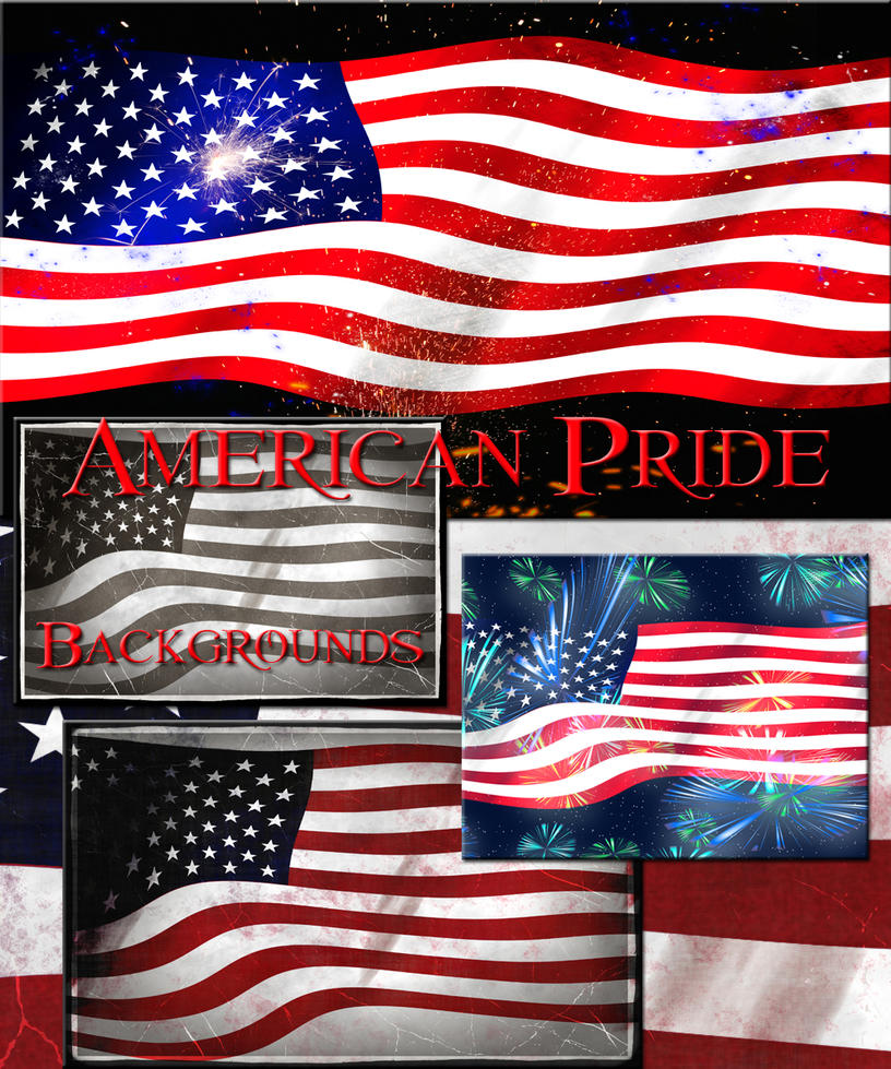 Free American Pride Backgrounds by Elle-Arden