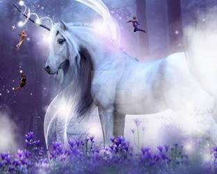 Unicorn Kisses by Elle-Arden
