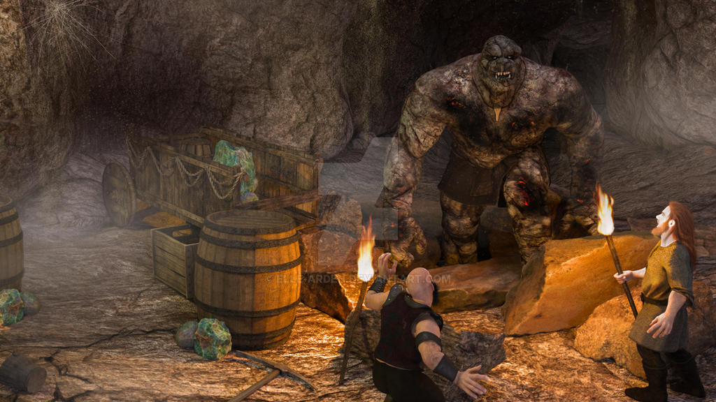 The Trolls of Blackwater Deep by Elle-Arden
