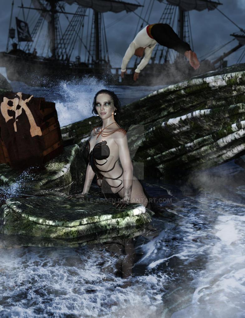 Pirate Treasure by Elle-Arden