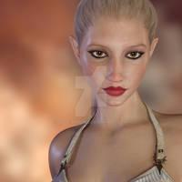 Kaia Elf Portrait