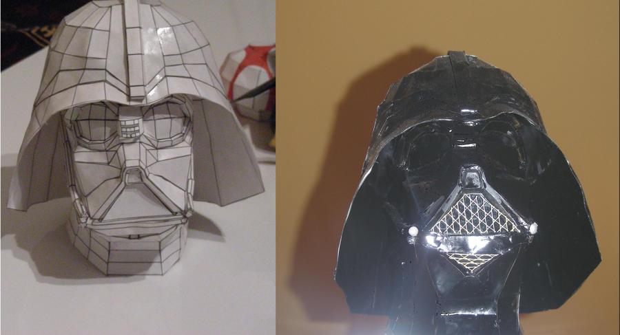 Darth Vader Painted Wall