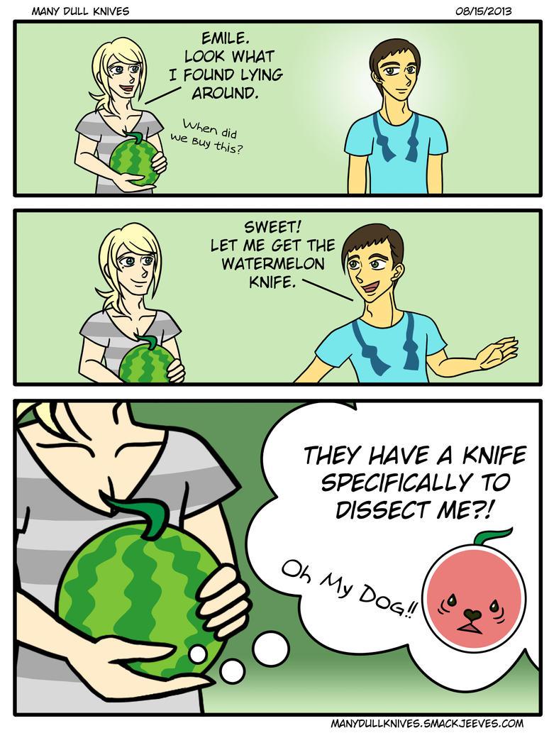 The Watermelon Puppy arc begins~!