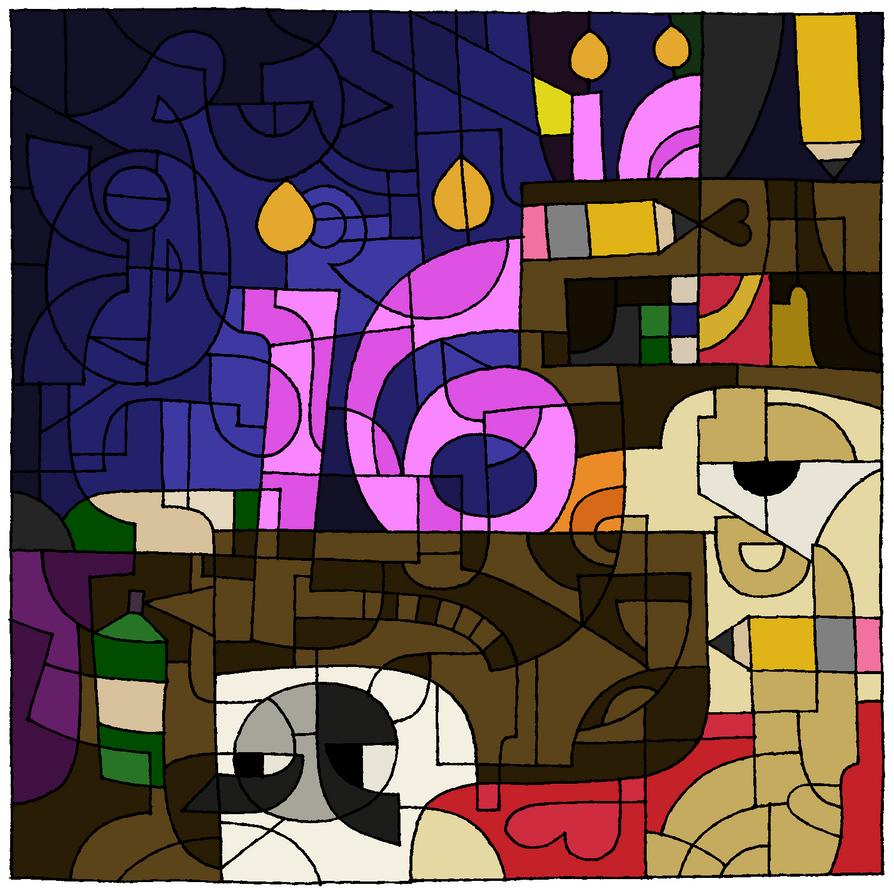 16th Birthday Color Challenge by IrkenInvaderKatt