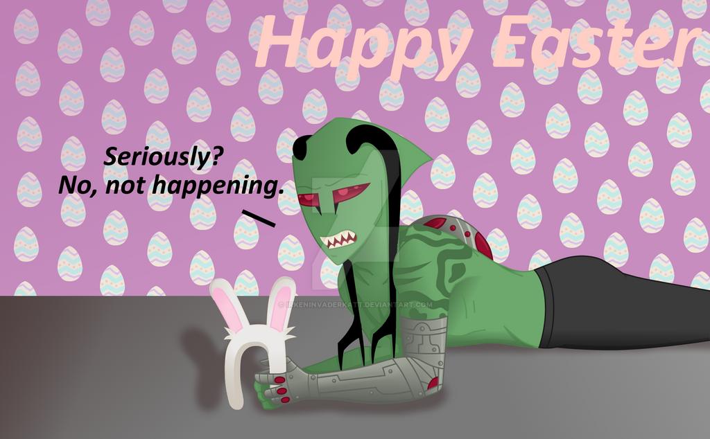 Happy Easter by IrkenInvaderKatt
