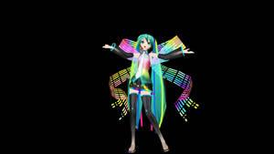 MMD Melt Hatsune Miku 10th Anniversary