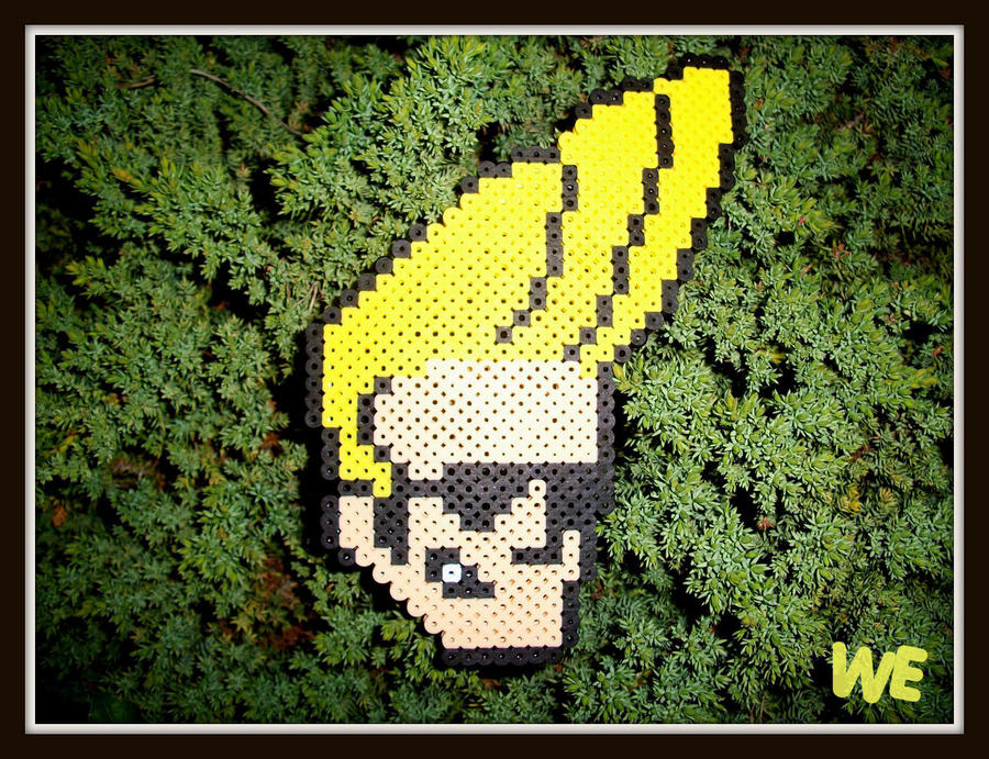 Perler Johnny Bravo By WEcustoms On DeviantArt