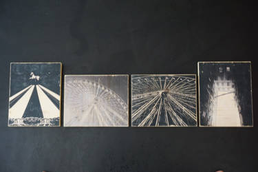 differents transferts photos sur support bois by Orelm