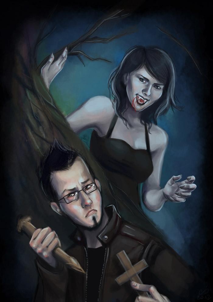 Vampiress by myszoskoczka