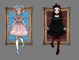 Sweet and Gothic Lolita