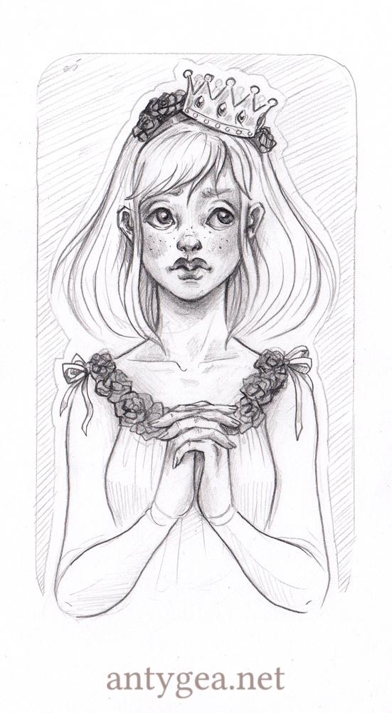 Rose sketch by myszoskoczka