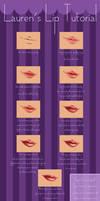 [SAI] Lip Tutorial!