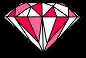 Pink Flashing Emerald by MysticalTemptress