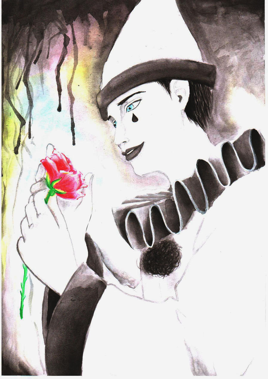 Galeria de desenhos Mayumi (Chibi May) - Página 10 Pierrot_by_ChibiMay