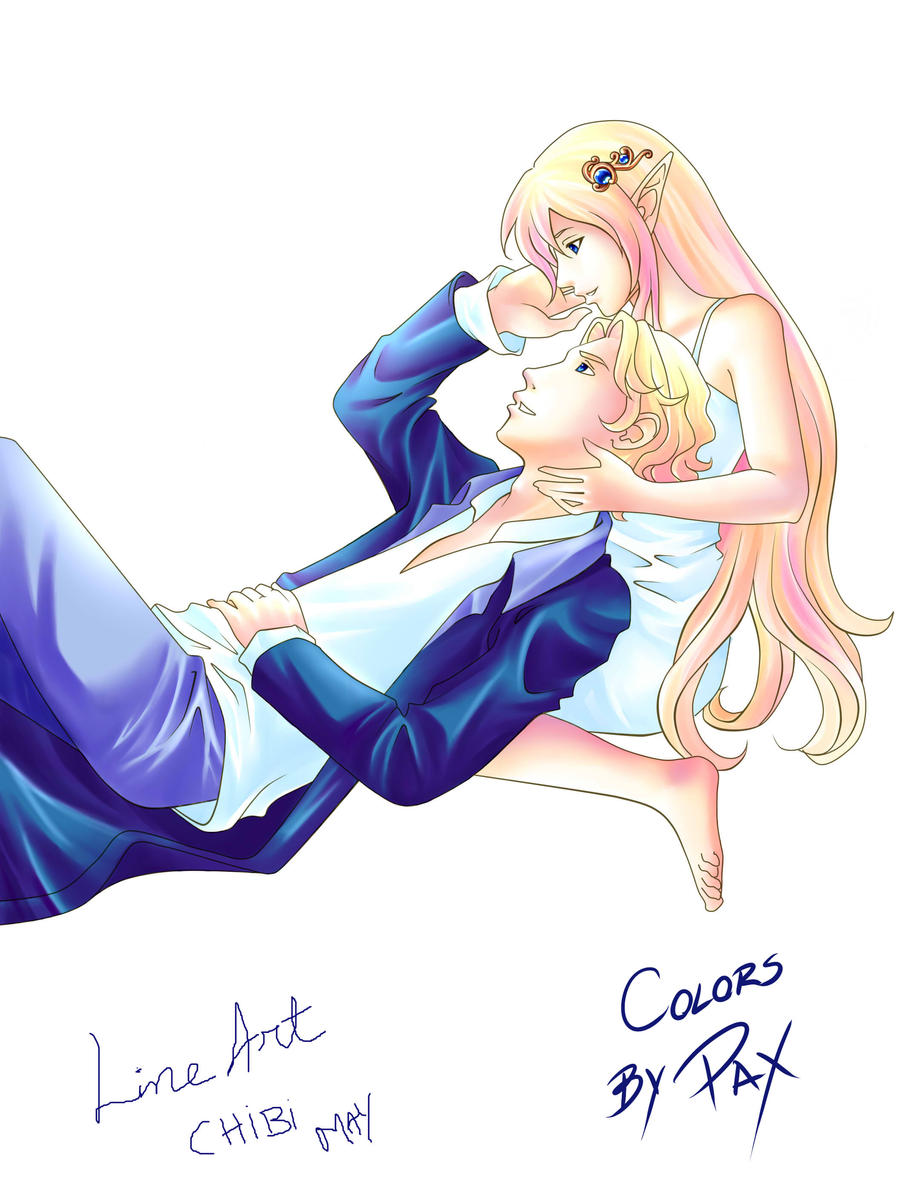 Galeria de desenhos Mayumi (Chibi May) - Página 10 Neru_e_Lilian_by_ChibiMay