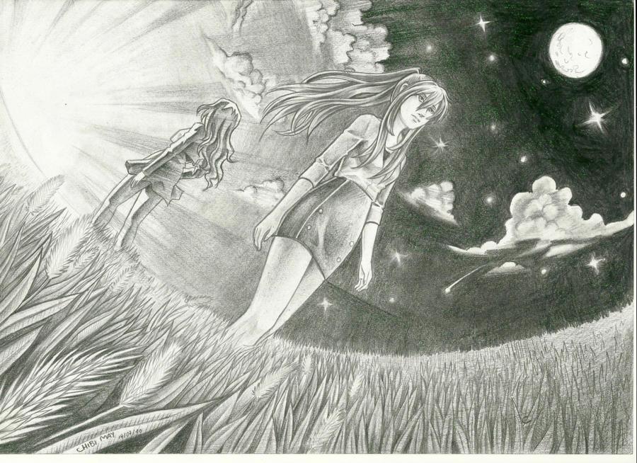 Galeria de desenhos Mayumi (Chibi May) - Página 10 Hikari_to_yami_by_chibimay-d2zsiax