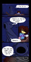 The Riverpersons Warning (Undertale Comic)