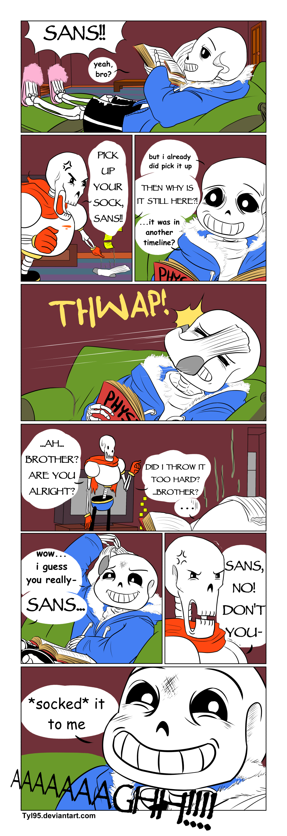 The Sock Talk (Undertale Comic) by Tyl95 on DeviantArt