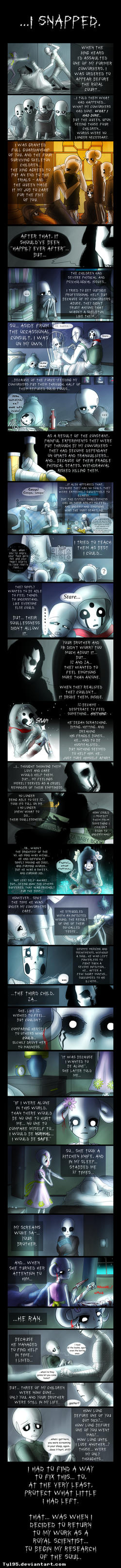 Home and Heart (Undertale Comic) by Tyl95